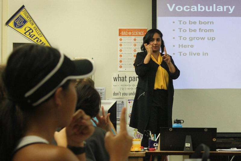 American Sign Language now taught at FVHS Featured Photo