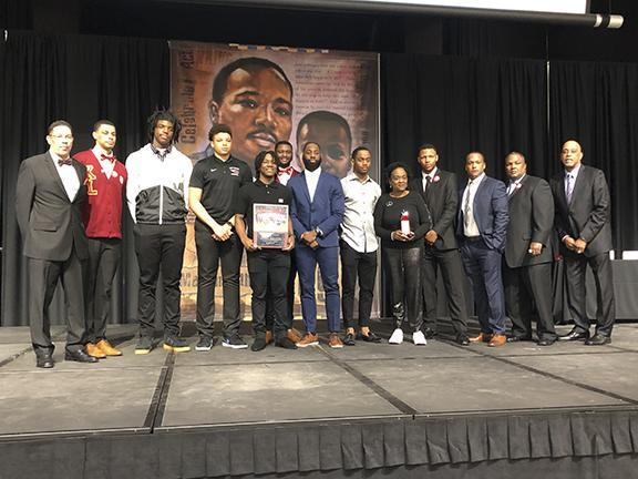 2017-2018 UIL 5A state champion Memorial basketball team