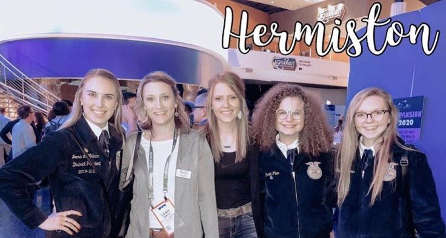 Hermiston FFA Students