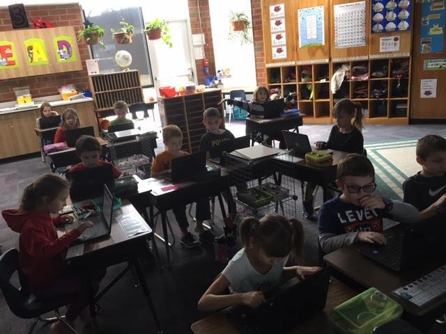 McKinley 1st Grade voting