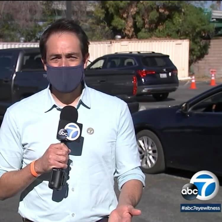 ABC 7 Snippet of AUSD Vaccination Event