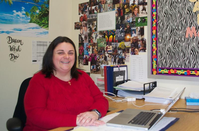 Jennifer Kotchkowski Teacher of the year