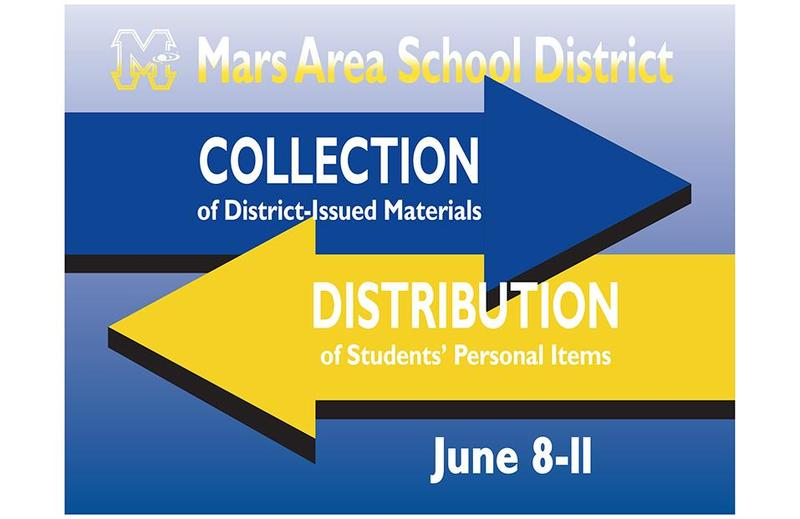 Mars Area School District Collection/Distribution