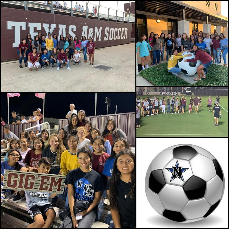 LADY RATTLER SOCCER TEAM ATTENDS A&M GAME Featured Photo