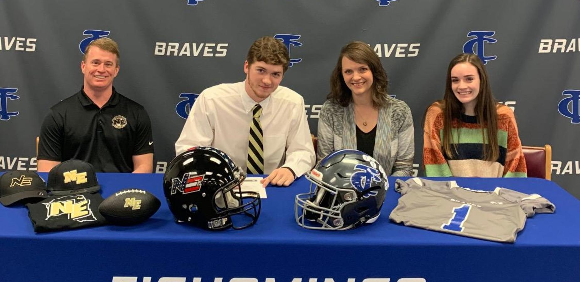 TCHS Senior Signs with NEMCC