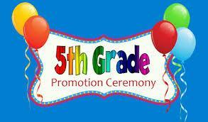 5TH GRADE PROMOTION CEREMONY BANNER