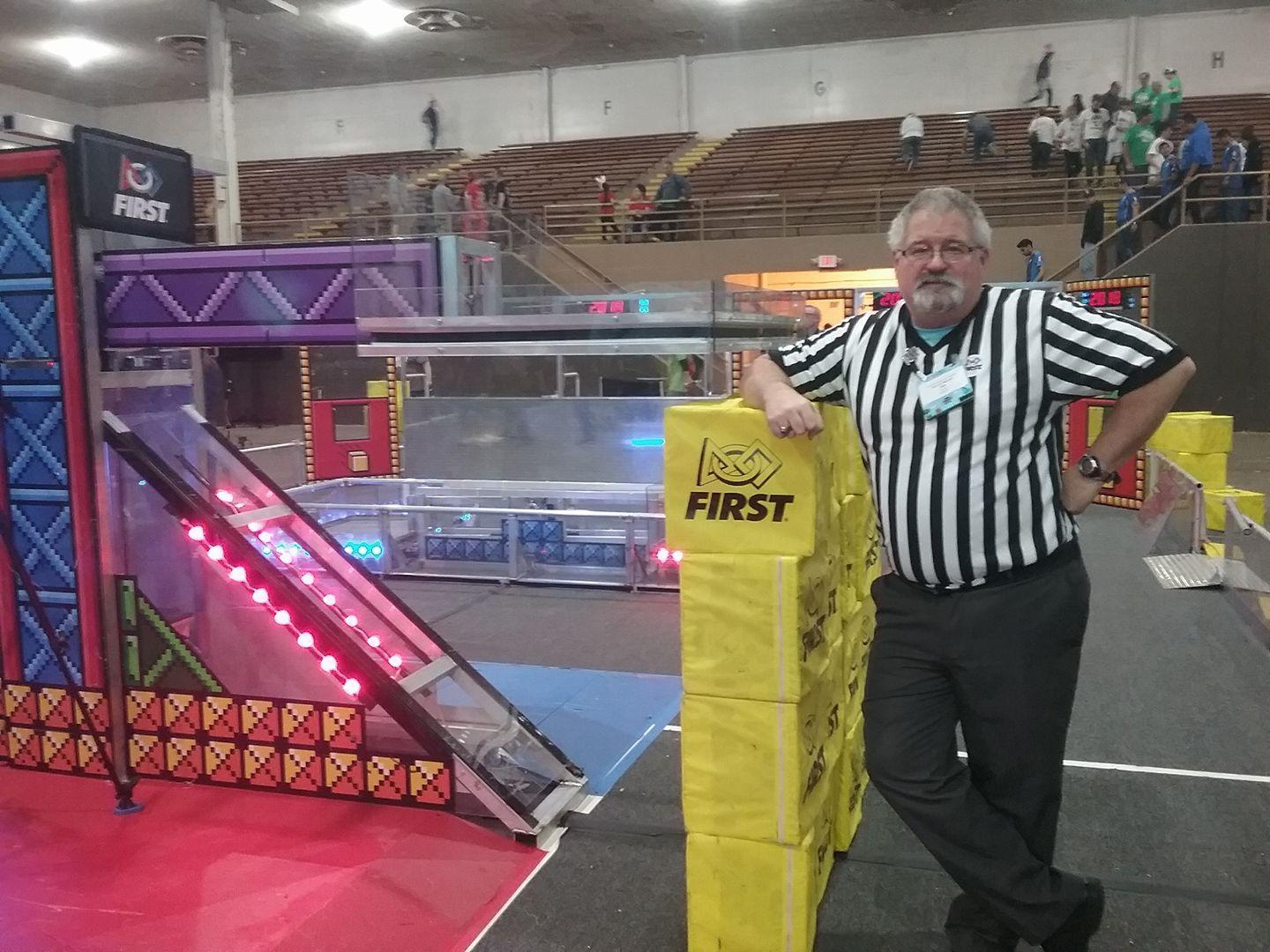 Building robots with FRC at Frenship opens up opportunities for both student and teacher alike. In 2017 I was drafted into being a Referee for the Hub City Regional.