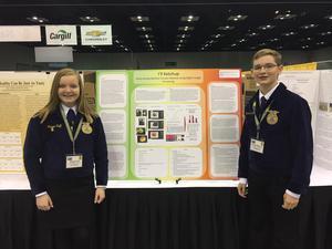 THS Freshmen Maggie Huff and Hayden McCord