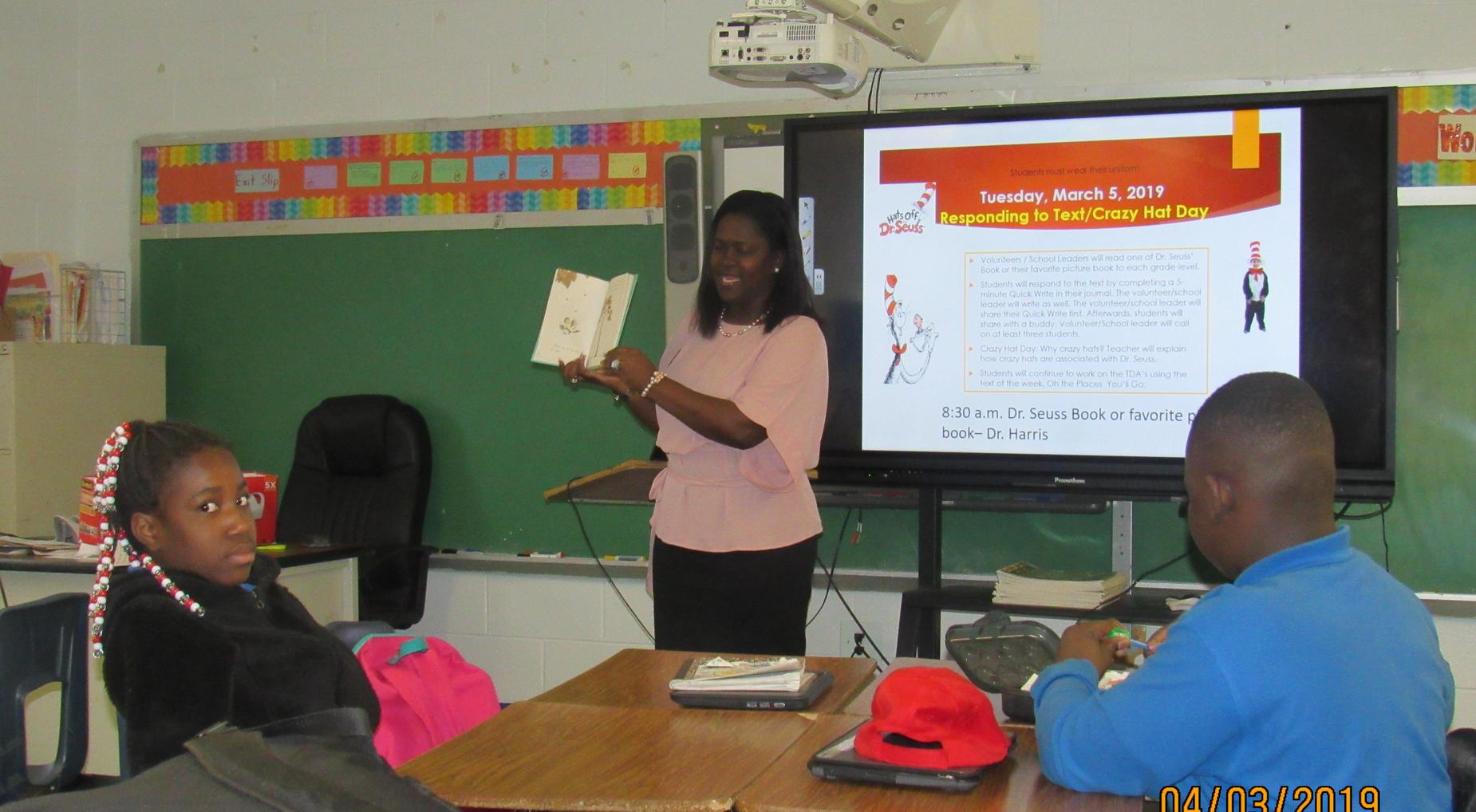 Read to a class