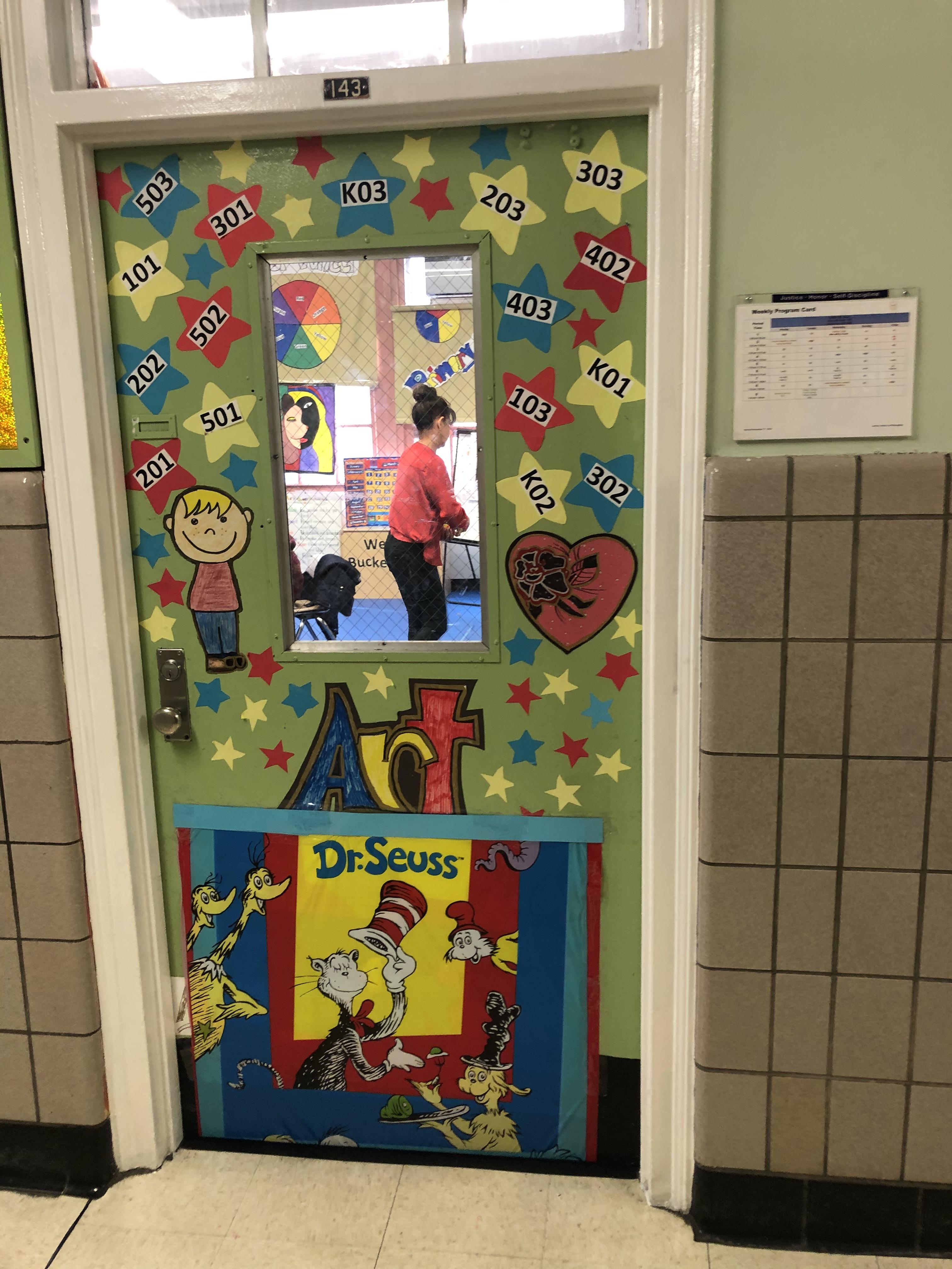 Read Across America Week Door Decorations