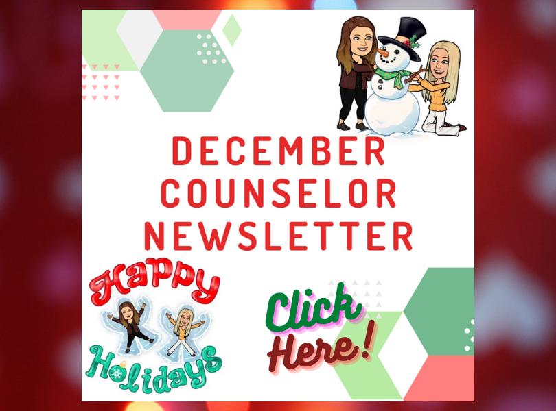 December Counselor Newsletter