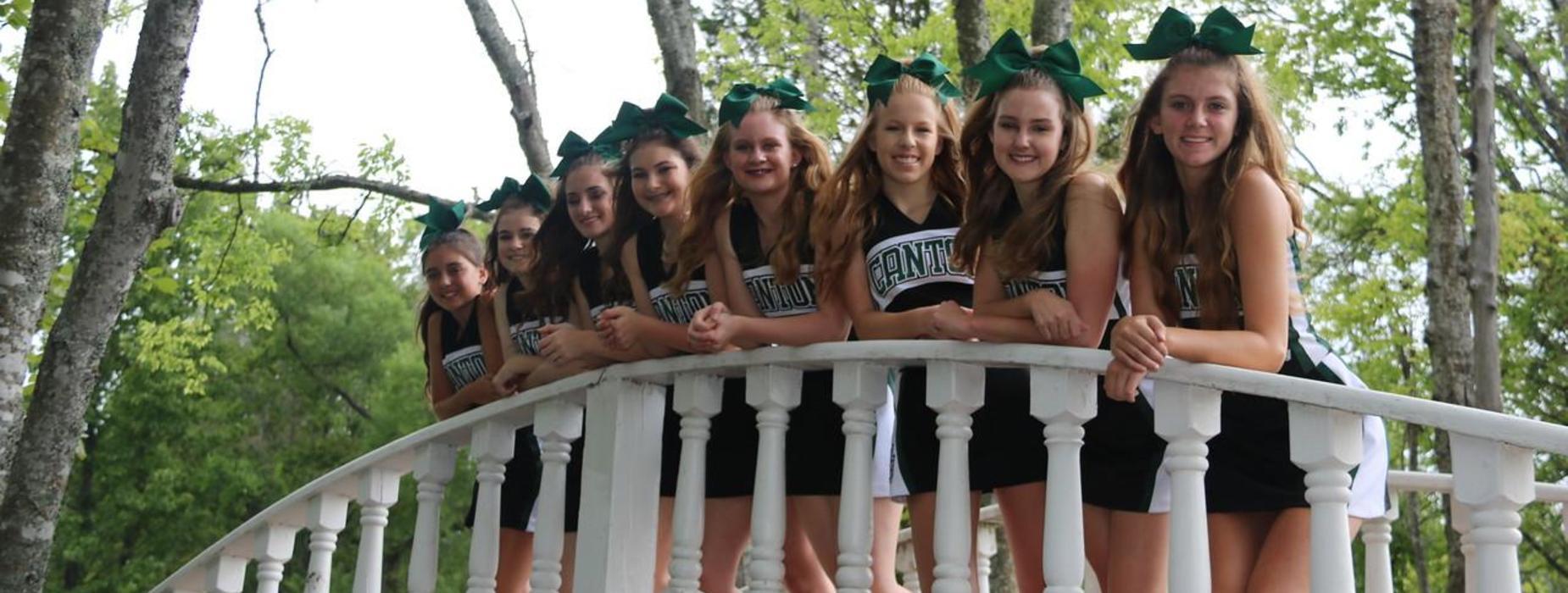 2017-18 Junior High Cheerleaders