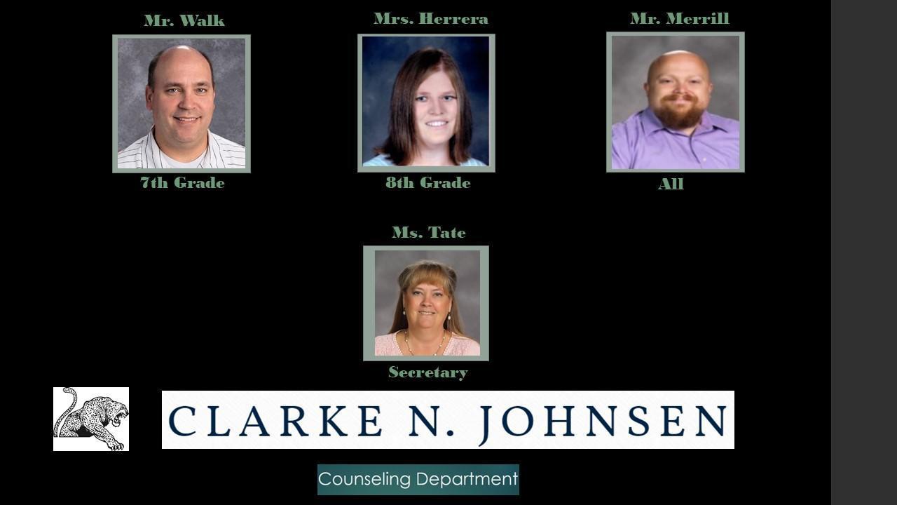 Clarke Johnsen Counseling Team