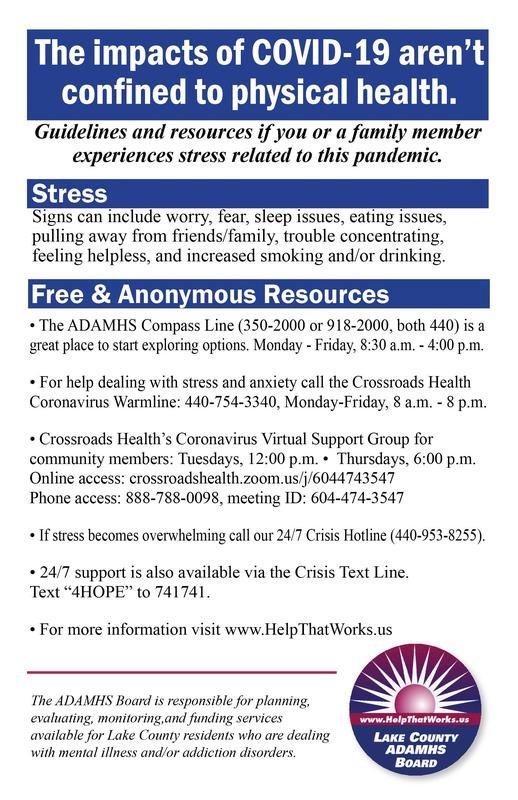 Behavioral health information
