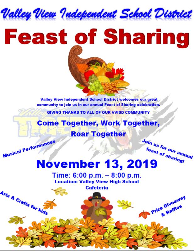 VVISD Annual Feast of Sharing Thumbnail Image