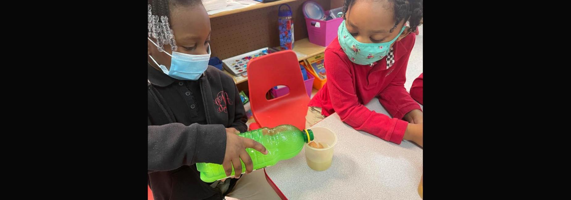 Kindergarten experiment