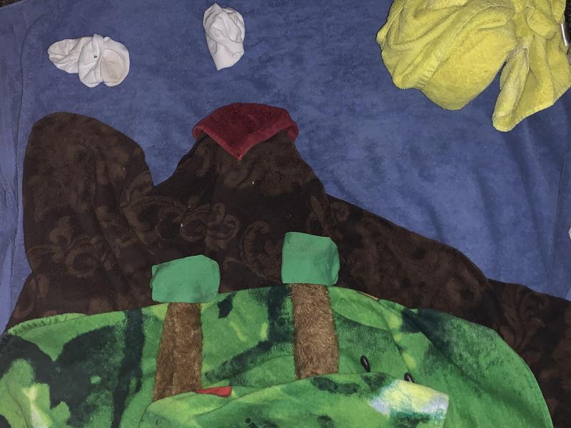 Laundry Landscape, by Brandon