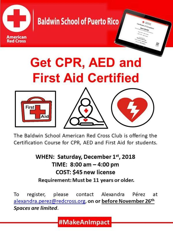 Get CPR, AED and First Aid Certified! Featured Photo