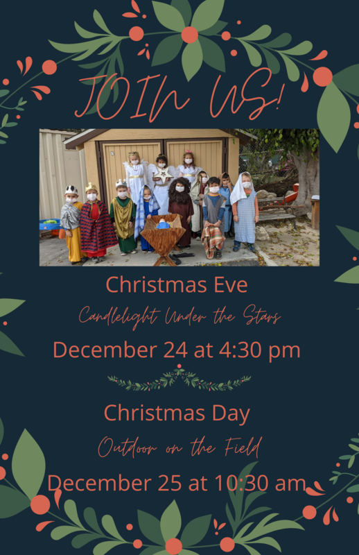 Christmas Eve Service 4:30 PM/ Christmas Day Service 10:30 AM Featured Photo