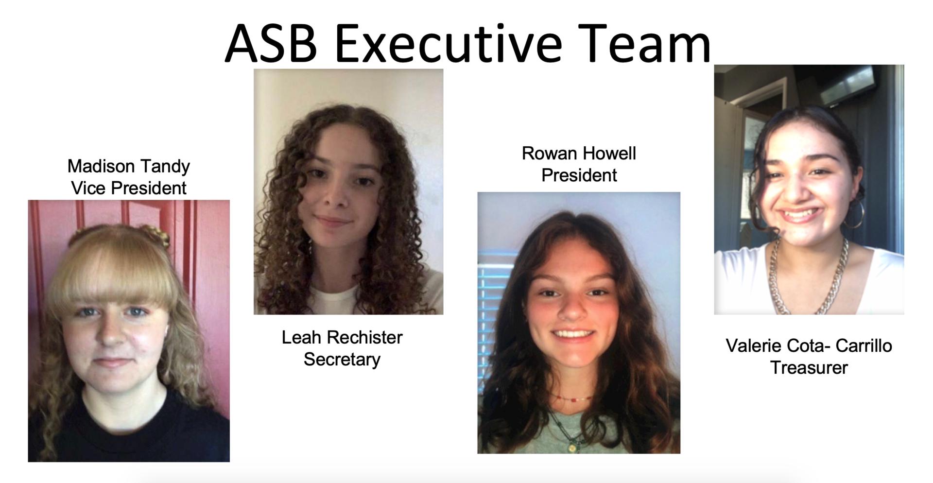 ASB Executive Team Photo