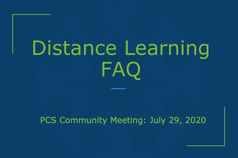 Distance Learning FAQ Thumbnail Image