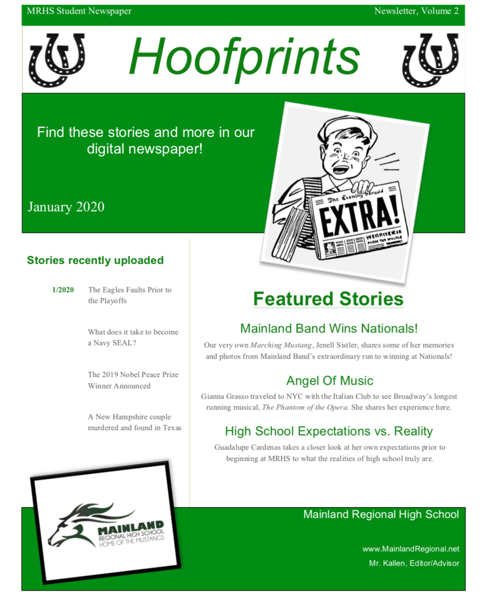 Page 1 of January 2020 Newsletter