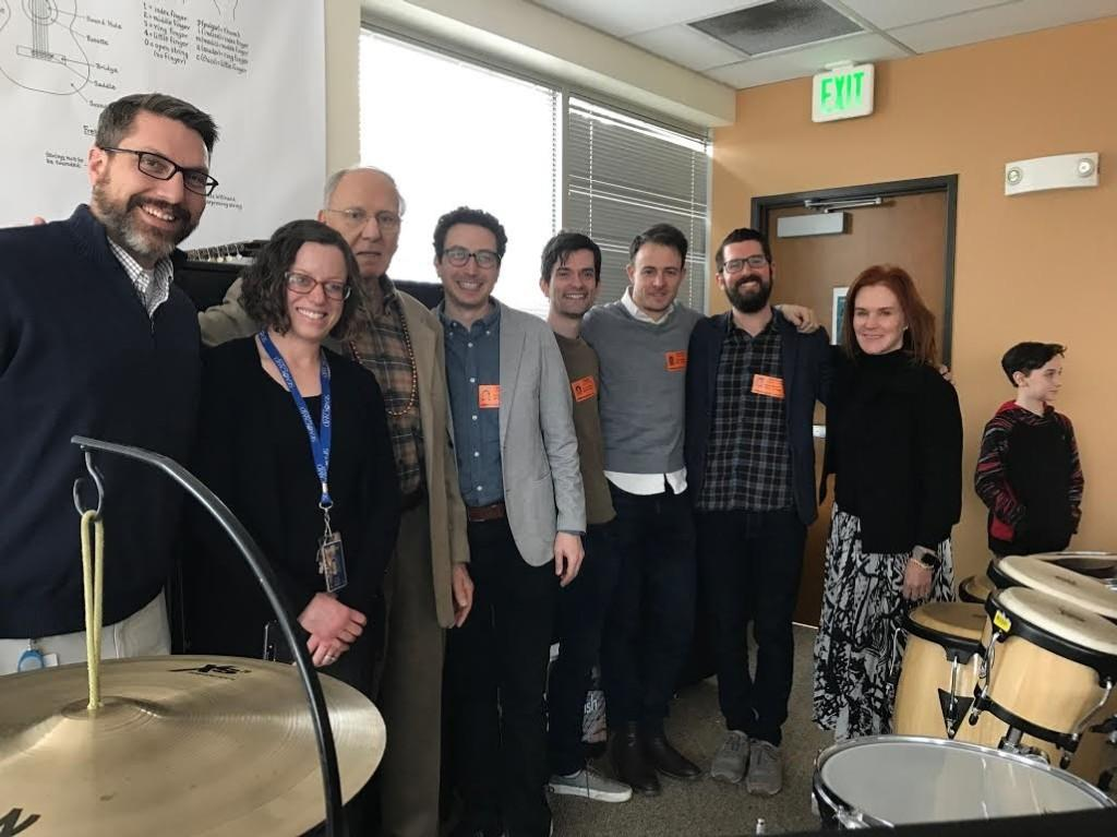 Grammy award winners visit STEM Music
