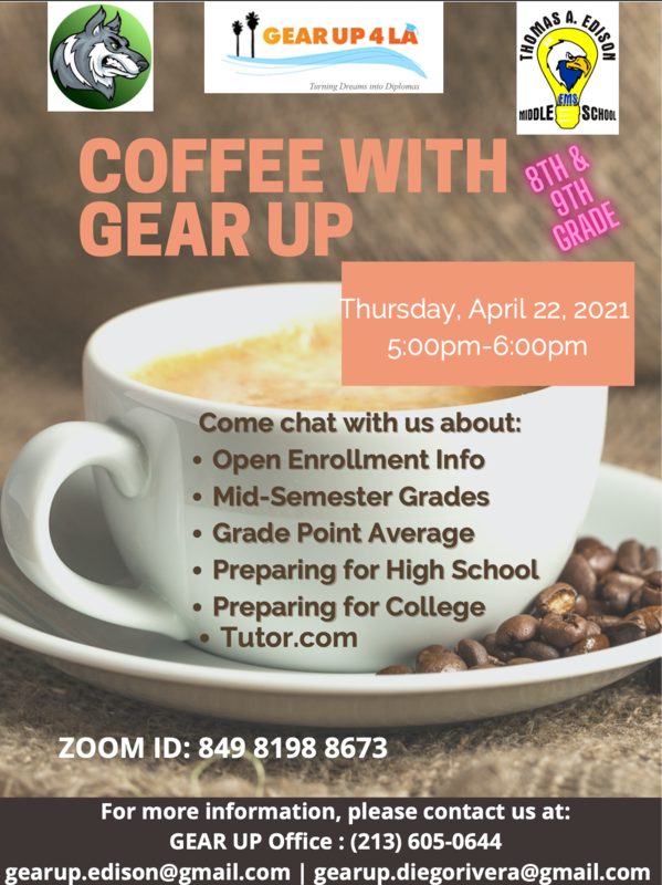 COFFEE WITH GEAR UP Featured Photo