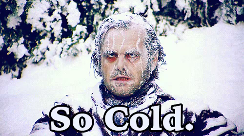 picture of cold man