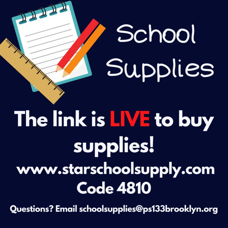 School Supplies On Sale