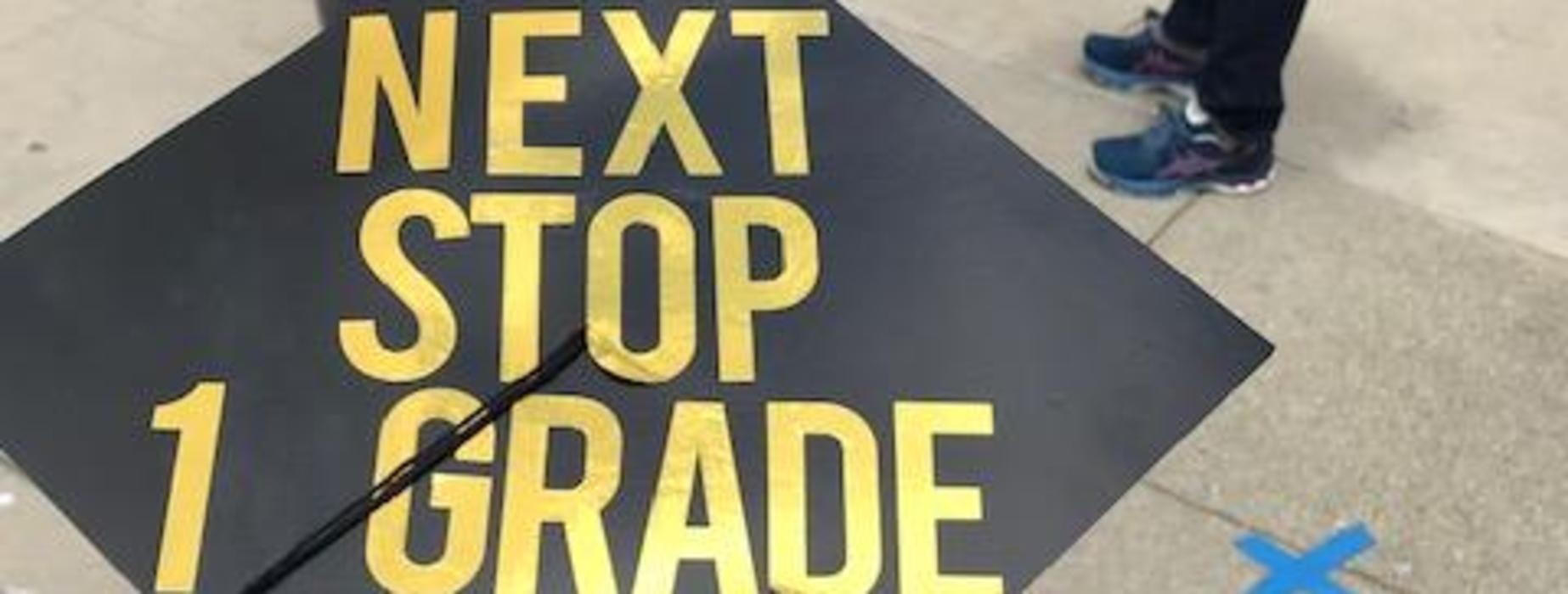 Next stop 1 Grade Cap