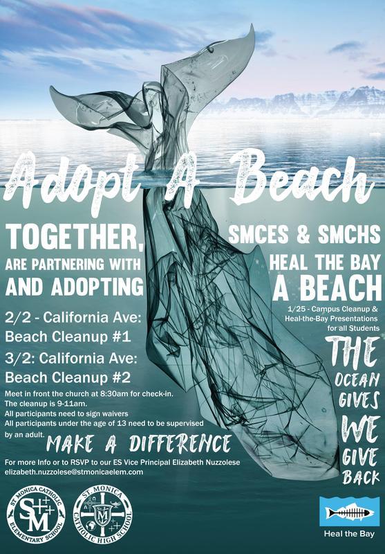 SMCES & SMCHS Adopt A Beach