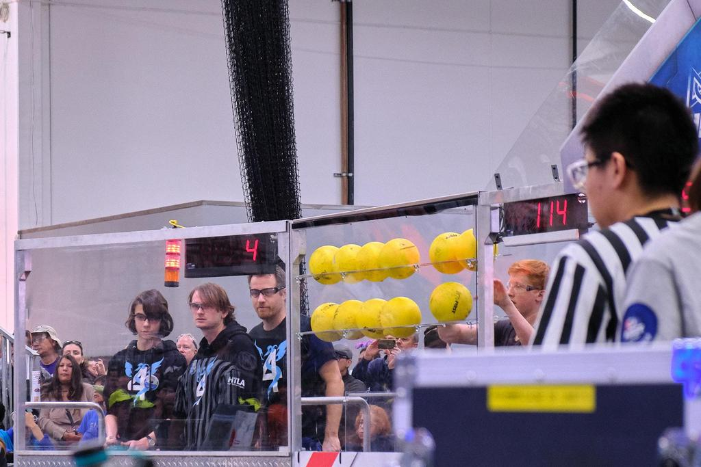 Drive team looking on during a match