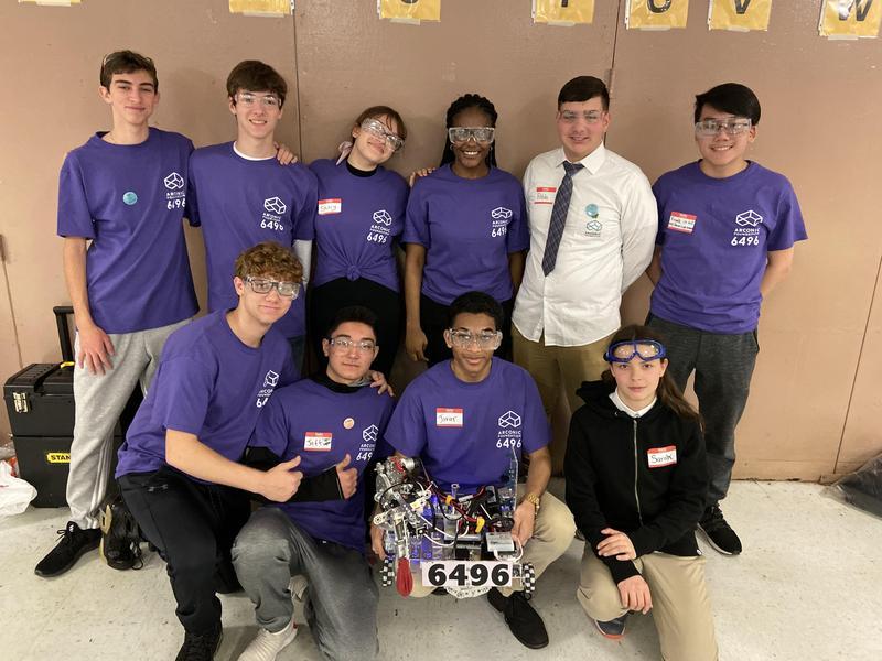 Robotics Team Impresses at Competition Featured Photo