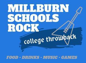 Millburn Schools Rock flier