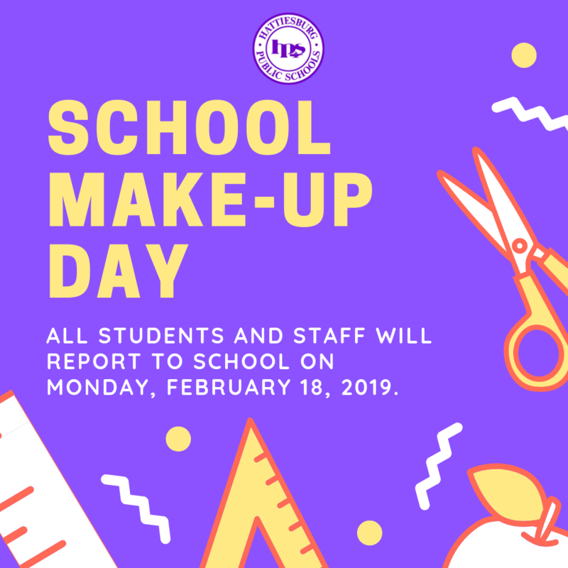 School Make-up Day, February 18 Featured Photo