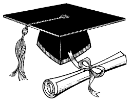 Image of graduate cap and diploma