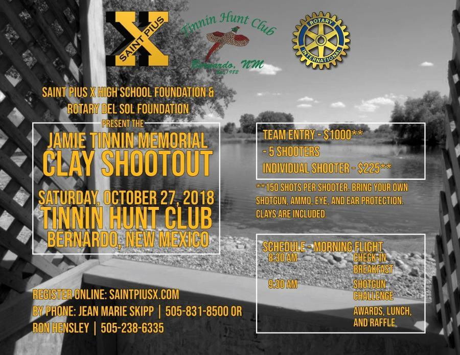 Jamie Tinnin Memorial Clay Shootout