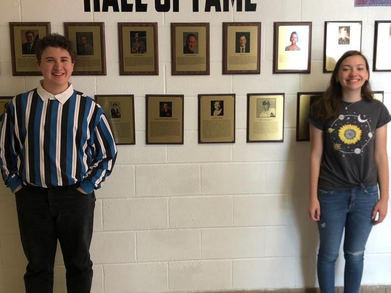 Two TCCHS Juniors Selected to the Governor's Scholar Program Featured Photo