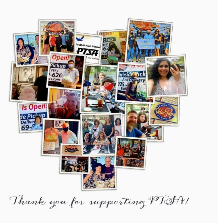 Thank you for Supporting PTSA Featured Photo