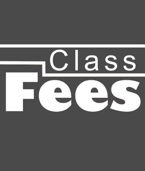 Class Fees Picture