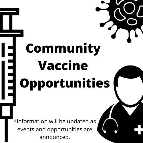 Community Vaccine Opportunities Featured Photo