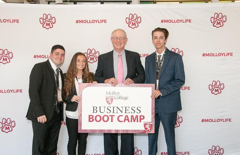 St. Dom Students Complete Prestigious Molloy College Summer Business Boot Camp Featured Photo