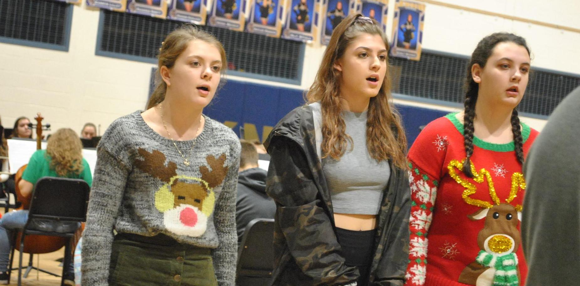 KHS Choral students