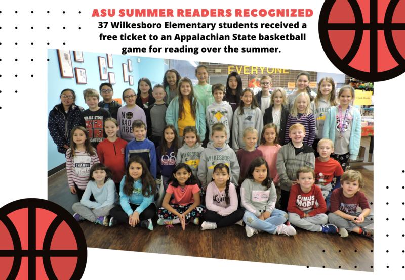 Wilkesboro Elementary Readers Recognized Thumbnail Image