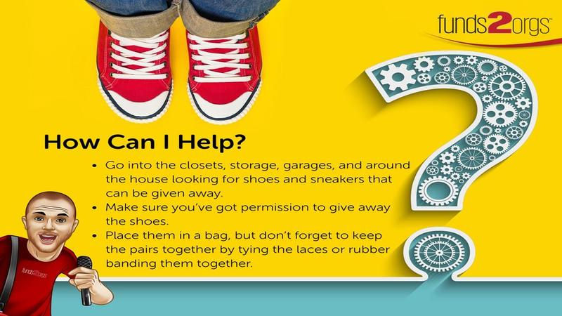 Donate Your Shoes!