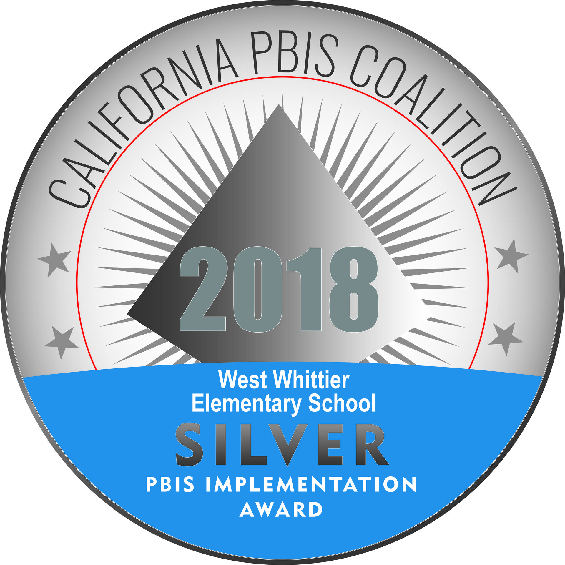 West Whittier 2018 Silver Award