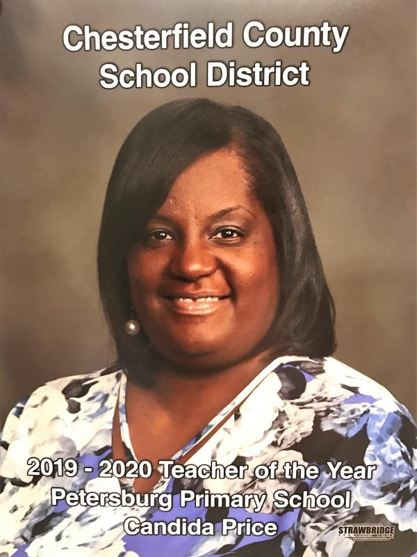 2019-2020 Petersburg Teacher of the Year Featured Photo