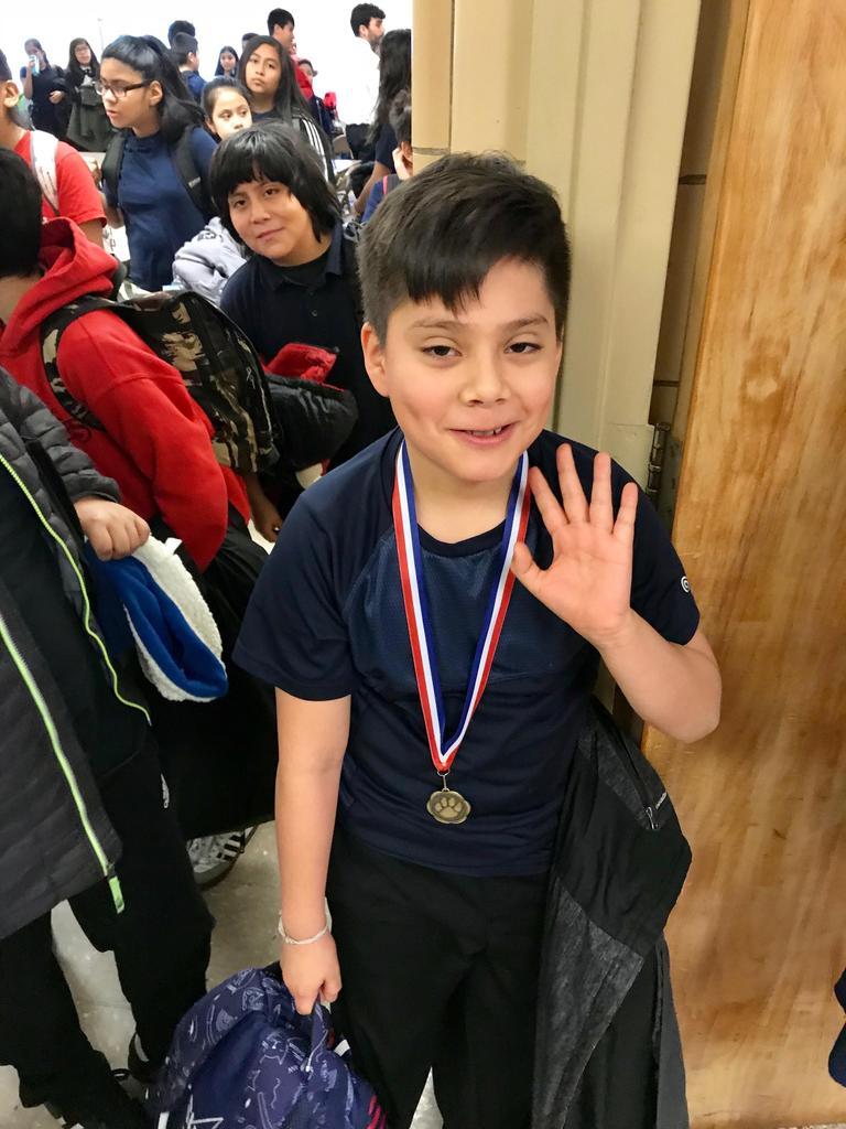Medal winner