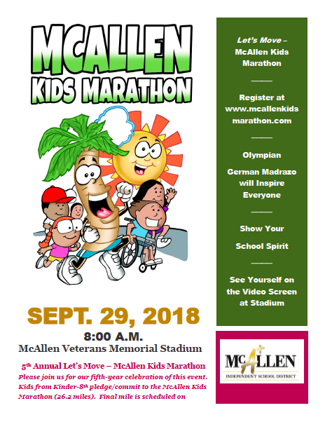 kids marathon poster